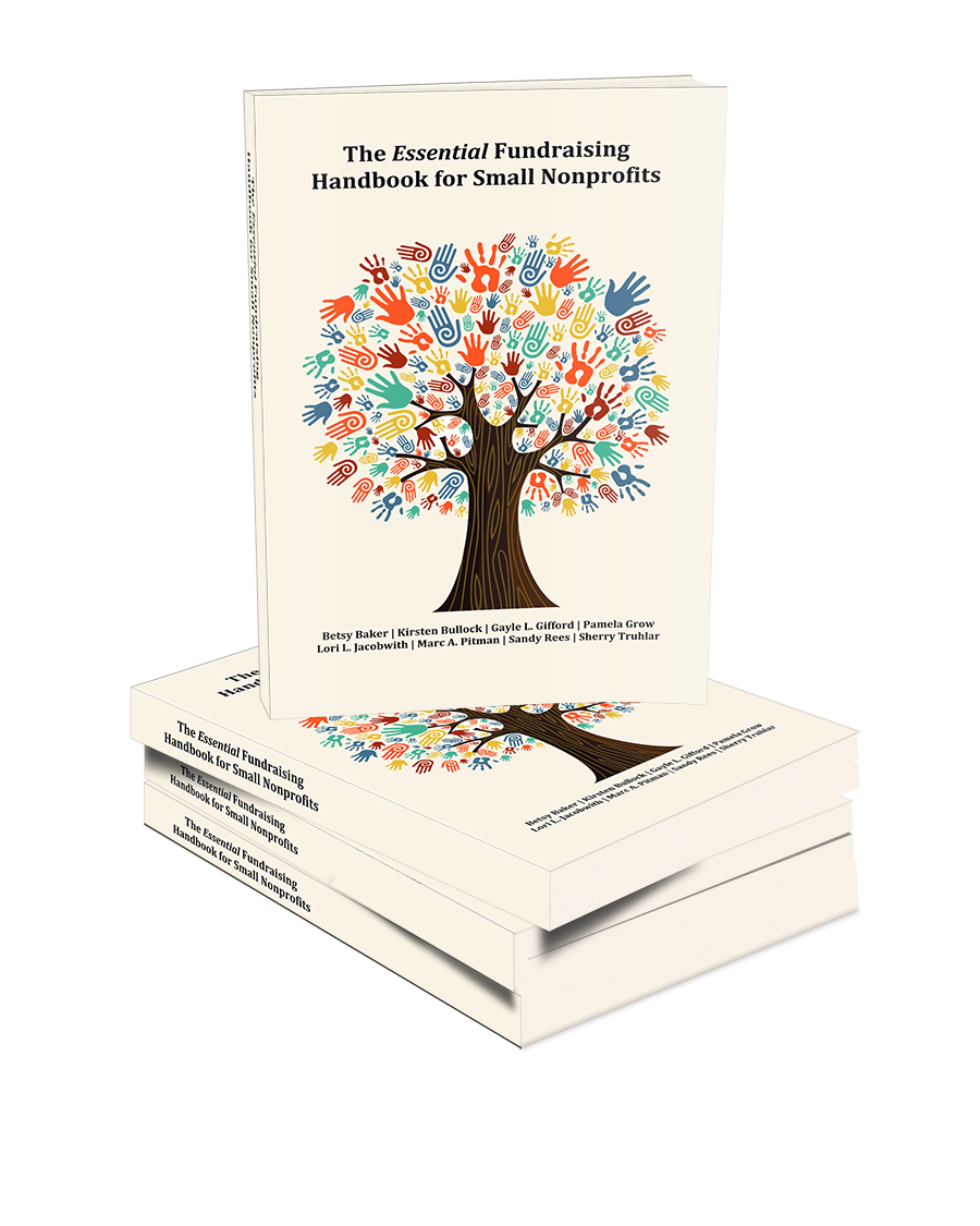Essential Fundraising Handbook for Small Nonprofits book cover